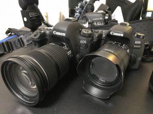 一眼レフカメラ6dmark2&一眼レフカメラ9000D